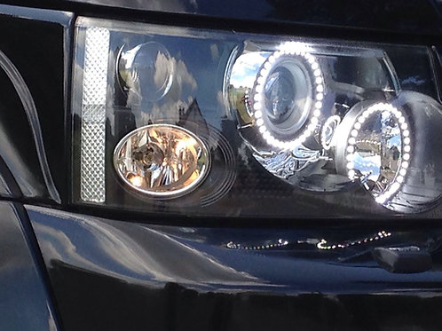 LED Halo Conversion for Range RoverSport Headlight