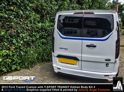 2013 Ford Transit Custom with T-SPORT TRANSIT Edition Body Kit 2 By Johnny Angel Customs pic12
