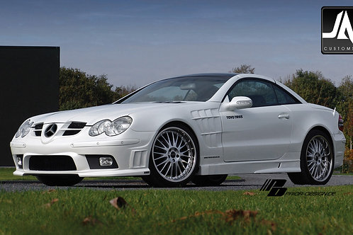 MERCEDES SL R230 WARRIOR Aerodynamic-Body Kit