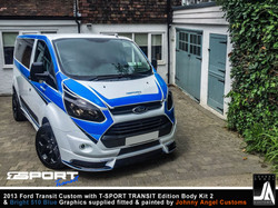 2013 Ford Transit Custom with T-SPORT TRANSIT Edition Body Kit 2 By Johnny Angel Customs pic13