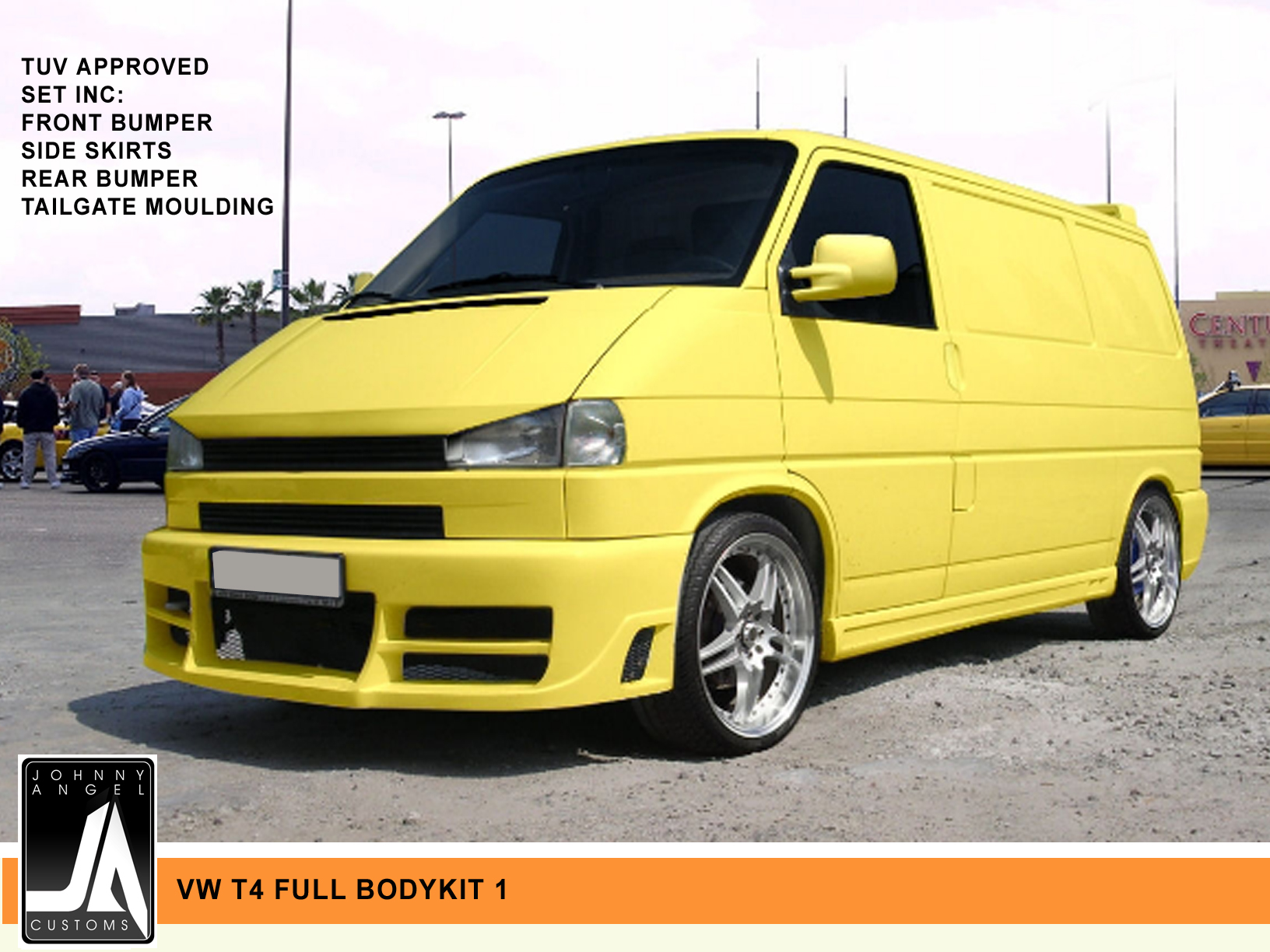 VW T4 FULL BODYKIT 1  Johnny Angel Customs pic 1