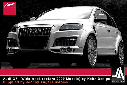 Audi Q7 - Wide-track (before 2009) KAHN Body kit