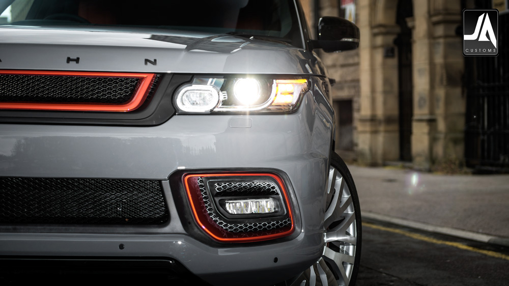 Front Grille with 3D Mesh - LE Accessory by Kahn Design pic 5