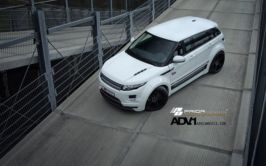 PD650 Widebody Aerodynamic-Kit for RANGE ROVER EVOQUE 5D pic 3