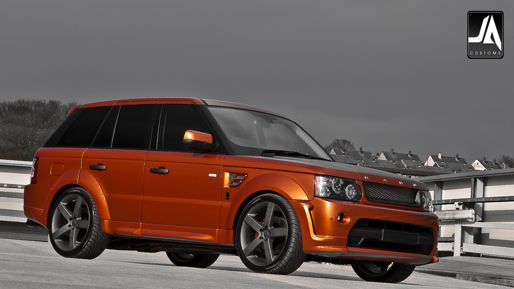 KAHN Autobiography Wide Wheel Arch Body Kit Range Rover Sport pic 16