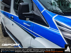 2013 Ford Transit Custom with T-SPORT TRANSIT Edition Body Kit 2 By Johnny Angel Customs pic11