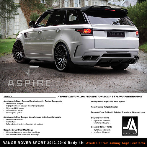 RANGE ROVER SPORT ASPIRE Body Kit STAGE 3 CARBON