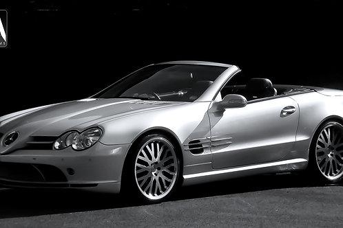 Mercedes Sl Stage 2 SL-R KAHN Aerodynamic Body Kit
