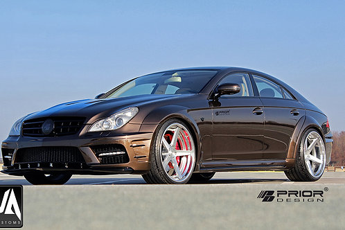 MERCEDES CLS W219 PD Black Edition Widebody Kit