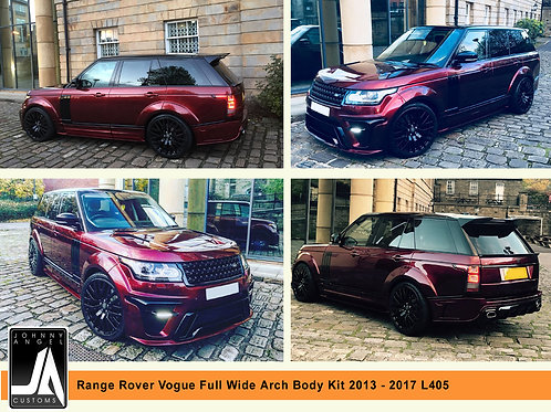 Range Rover Vogue Full Wide Arch Body Kit