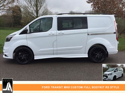 FORD TRANSIT MK8 CUSTOM FULL BODYKIT RS STYLE  By Johnny Angel Customs PIC 3