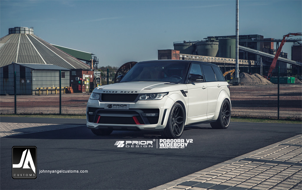 PD800RR V1 & V2 Widebody Aerodynamic-Kit for RANGE ROVER SPORT [2013+] pic 3 copy