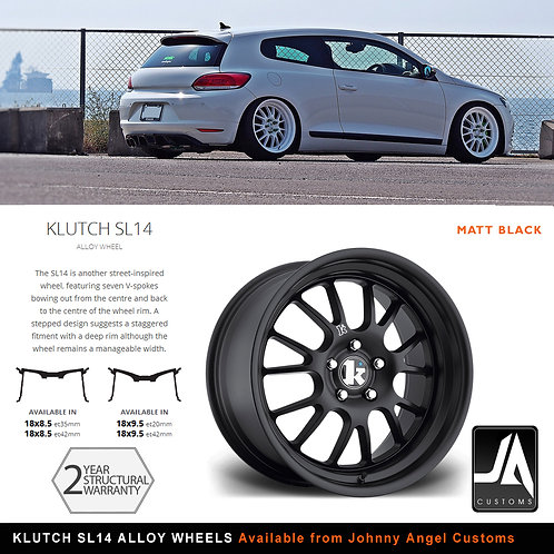 KLUTCH SL14 Alloy Wheels 18x8.5J ET42 5x112