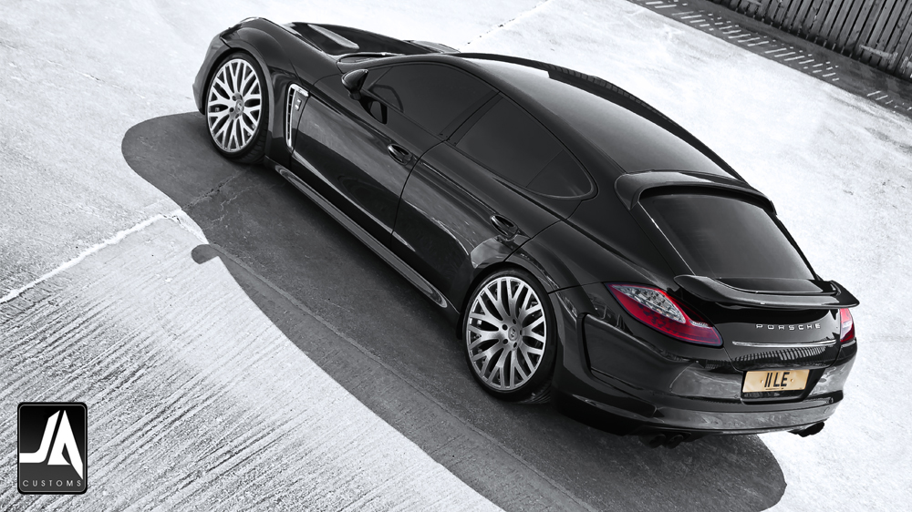 KAHN Porsche Panamera Supersport wide track pic 5