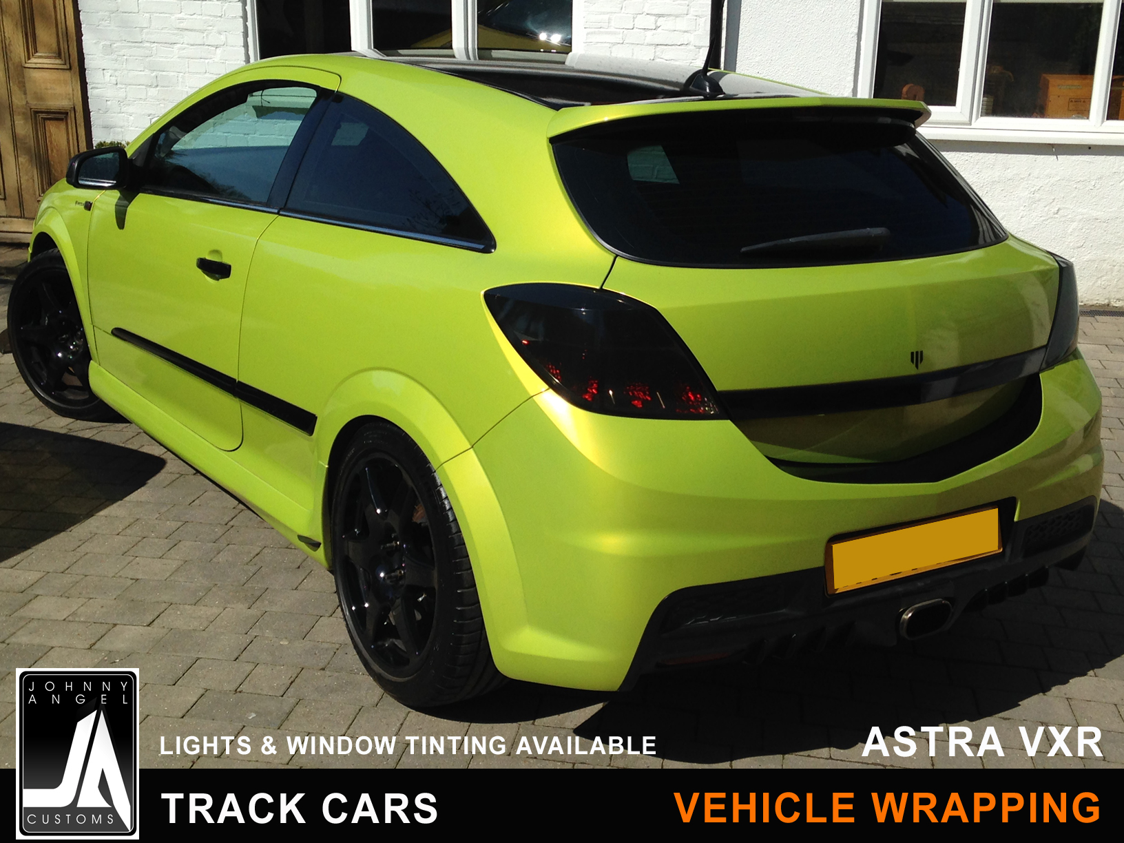 Johnny Angel Customs Track Cars Vehicle Wrapping Astra VXR p5