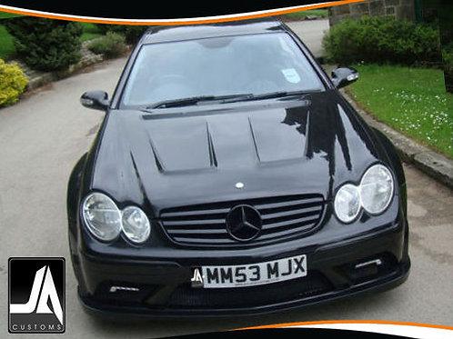 Mercedes CLK to Black Series Wide Body Kit