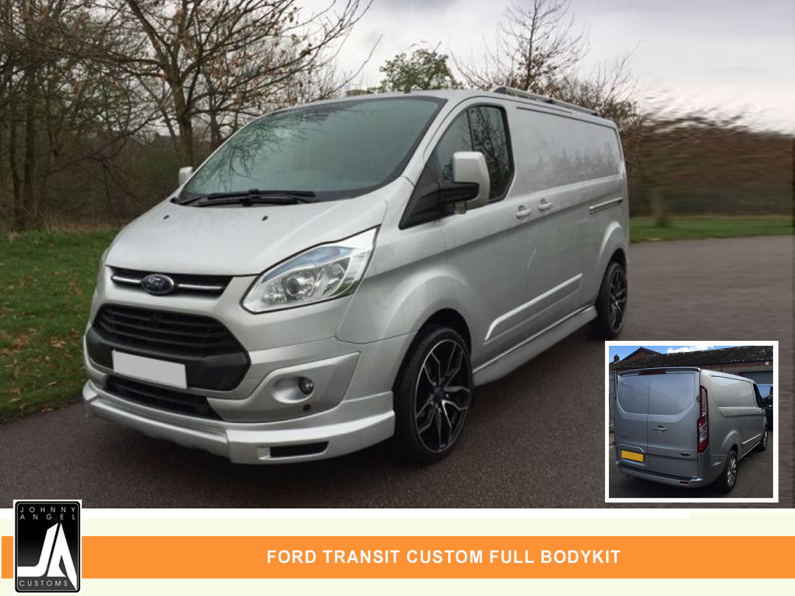 FORD TRANSIT CUSTOM FULL BODYKIT  By Johnny Angel Customs PIC 2