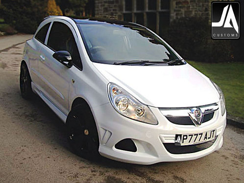 Vauxhall Corsa D to VXR | Side Skirts Body Kits
