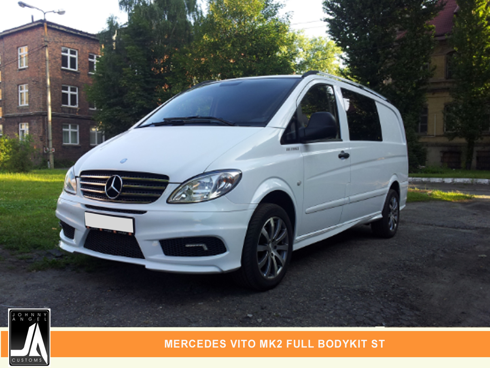 MERCEDES VITO MK2 FULL BODYKIT ST  By Johnny Angel Customs PIC 1