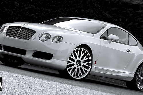 Bentley Continental - GT KAHN Body kit