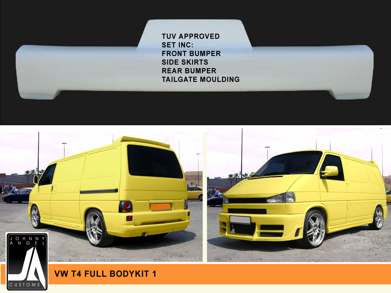 VW T4 FULL BODYKIT 1  Johnny Angel Customs pic 3