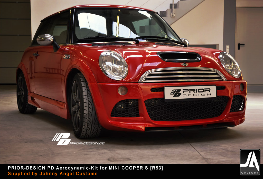 PRIOR-DESIGN PD Aerodynamic-Kit for MINI COOPER S [R53] pic 8 copy