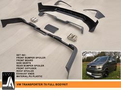 VW TRANSPORTER T6 FULL BODYKIT   Johnny Angel Customs pic 2