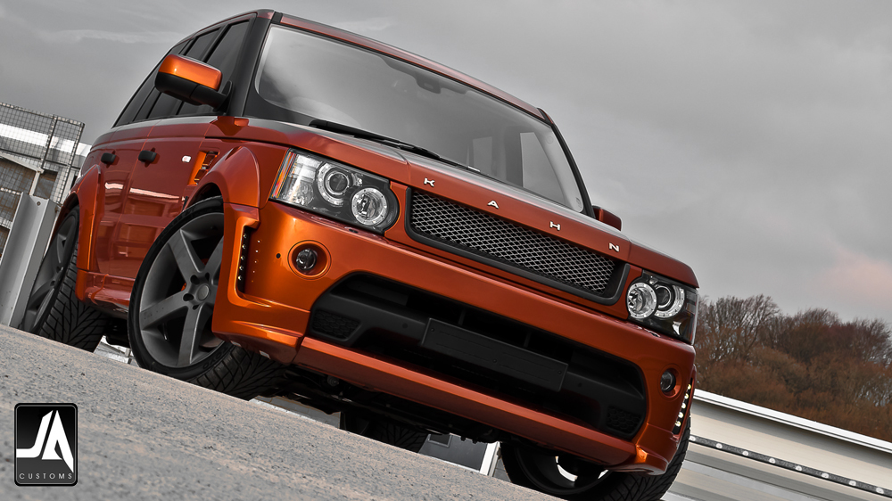 KAHN Autobiography Wide Wheel Arch Body Kit Range Rover Sport pic 1