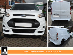 FORD TRANSIT CONNECT FULL BODYKIT RS  By Johnny Angel Customs PIC 1