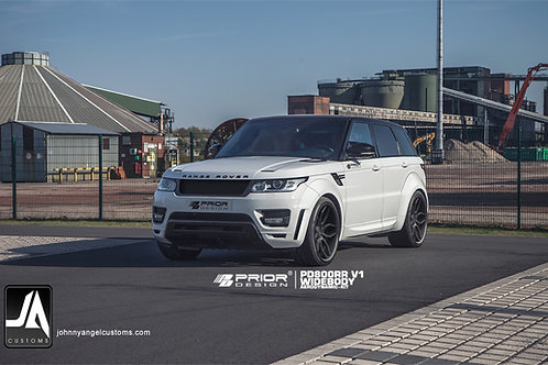 PD800RR V1 Widebody Kit for RANGE ROVER SPORT 2013