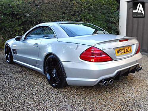 Mercedes SL R230 facelift to new 63AMG Rear Bumper