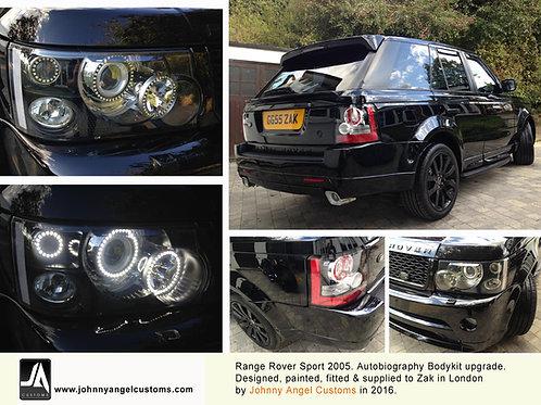3 RING LED Halo Conversion for Range RoverSport Headlight