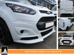 FORD TRANSIT CONNECT FULL BODYKIT RS  By Johnny Angel Customs PIC 2