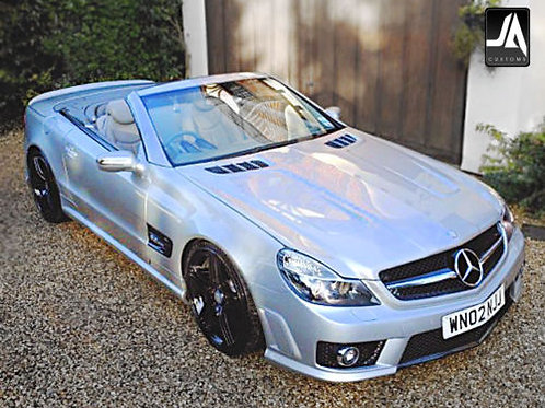 Mercedes SL R230 facelift to new63 AMG BootSpoiler