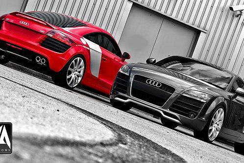 Audi TT KAHN Aerodynamic Body Kit