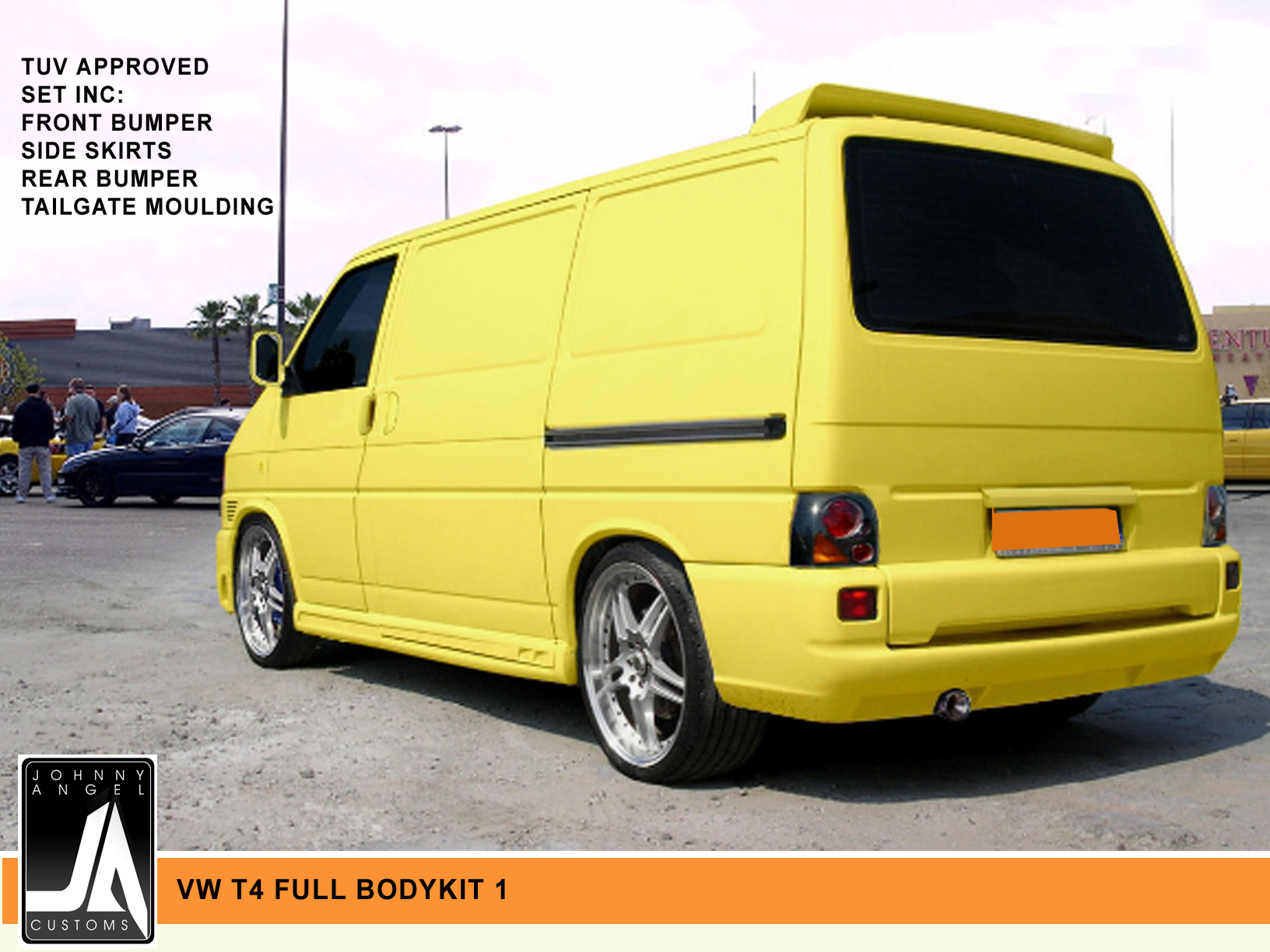 VW T4 FULL BODYKIT 1  Johnny Angel Customs pic 2