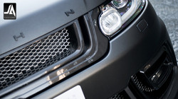 Front Grille With 3D Mesh In Carbon Fibre - LE Accessory by Kahn Design pic 4