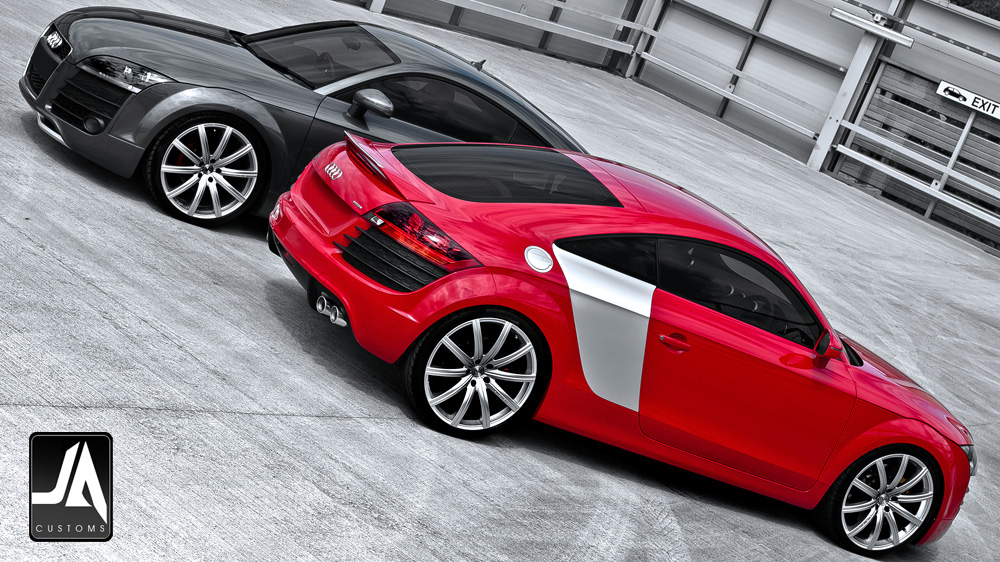 Audi TT KAHN Body Kit pic 4