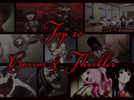 Kuru Media's Top Ten Horror and Thriller Recommendations