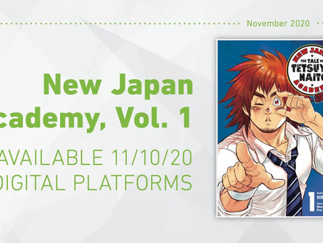 New Japan Academy Manga Is Getting an English Translation