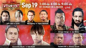 NJPW G1:Climax Night 1 Recap and Review
