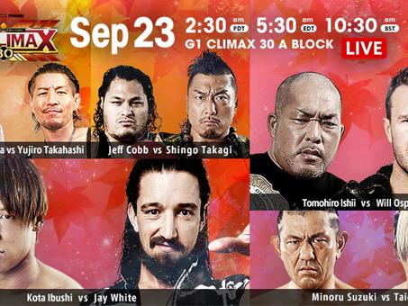NJPW G1:Climax Night 3 and 4 Recap and Review