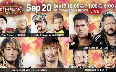 NJPW G1:Climax Night 2 Recap and Review