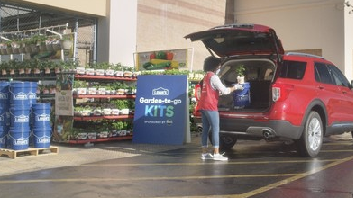 Lowe's FREE Garden-to-Grow kits every Thursday in April
