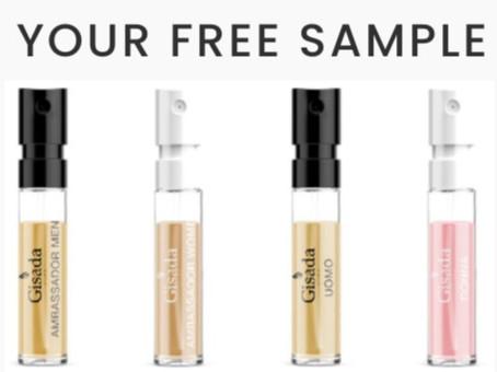 FREE perfume sample set