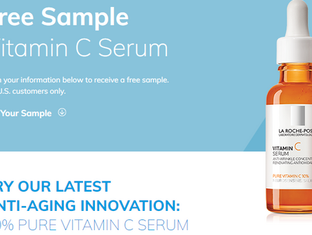 FREE vitamin C serum sample