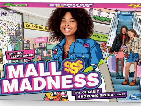 Family fun with Mall Madness