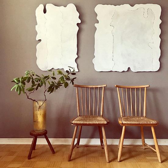 WK Möbel - 2 Stühle ( paar ) von Arno Lambrecht