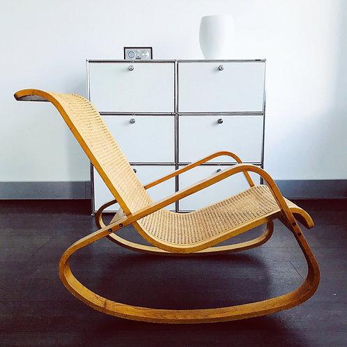 Luigi Crassevig - Dondolo - Design Schaukelstuhl