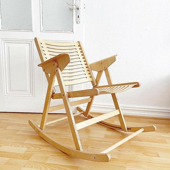 Vintage - Rex Rocking Chair - Niko Kralj - Schaukelstuhl / Stuhl